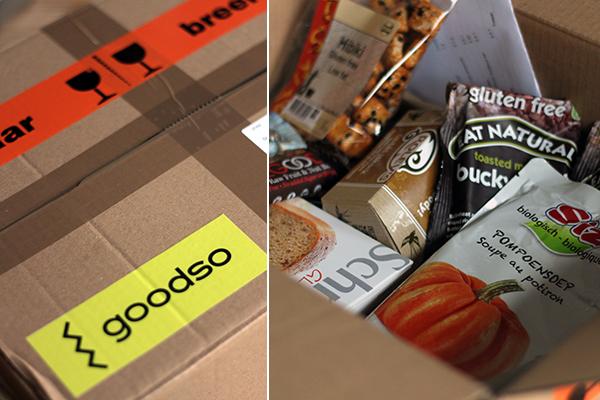 Review: webshop Goodso en app Boodschapp Glutenvrij + GIVE AWAY