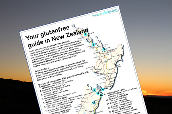 NZ Glutenfree Guide - preview website