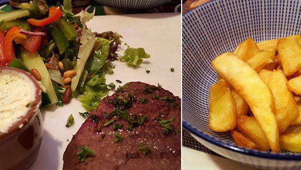Diner bij eetcafé Beekveld in 's-Hertogenbosch