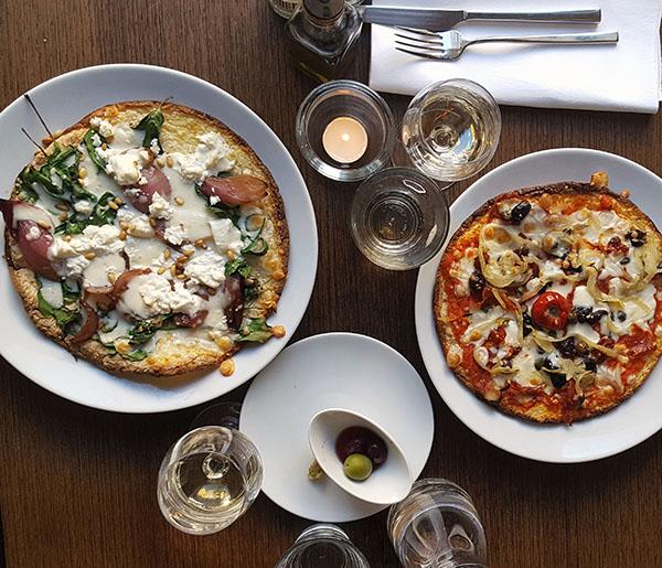Diner bij De Italiaan in Amsterdam (2016)