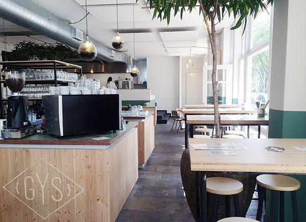 Lunch bij Gys in Rotterdam