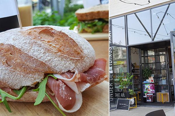 Lunch bij onder de Leidingstraat in Eindhoven