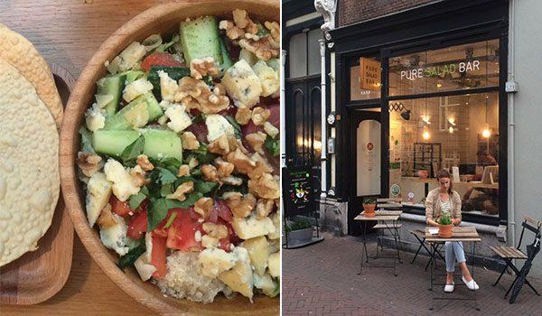 Lunch/Diner bij Haka Pure Salad Bar in Delft