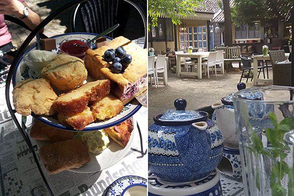 High Tea bij Theehuis Dennenoord in Nutter
