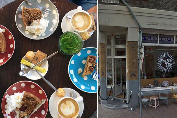 Koffie bij Koffie&Zo in Delft