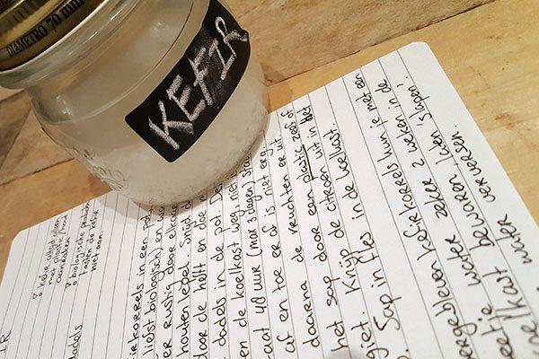 Recept Kefir