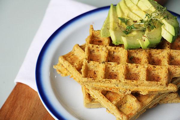 Hartige glutenvrije wafels – Recept