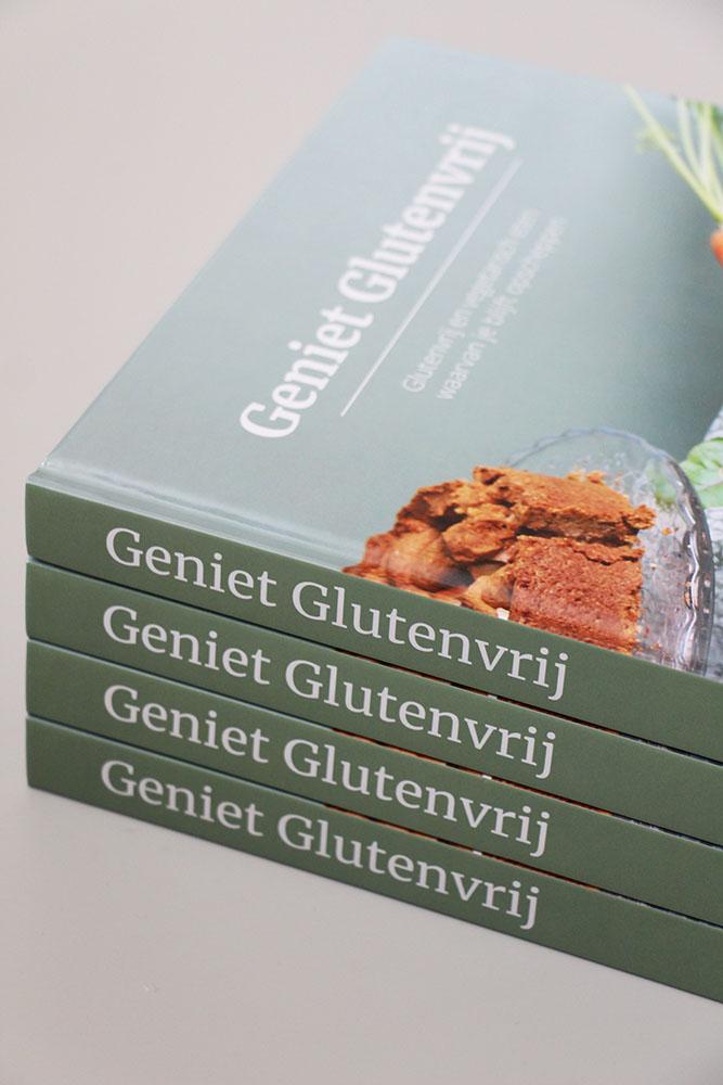 Kookboek Geniet Glutenvrij, nu te bestellen op metzondergluten.com